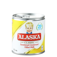 Alaska classic sweetened condensed filled milk 390g