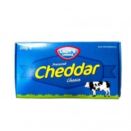 Cheddar cheese 200g Lady's choice