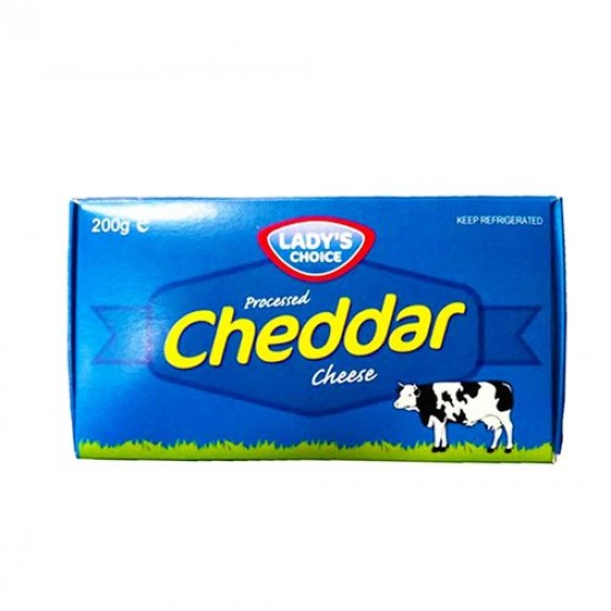 Cheddar cheese 200g Lady's choice