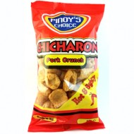 Pork crunch Chicharon hot&spicy 80g Pinoy's choice