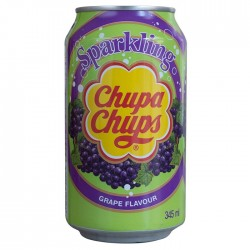 Chupa chups sparkling grape flavour 345ml