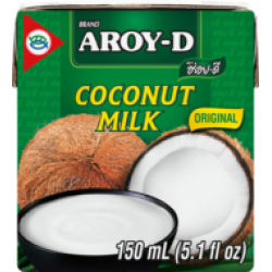 Coconutmilk Uht 19% fat Aroy-D 150ml