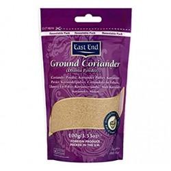 Ground coriander dhania powder 100g East end