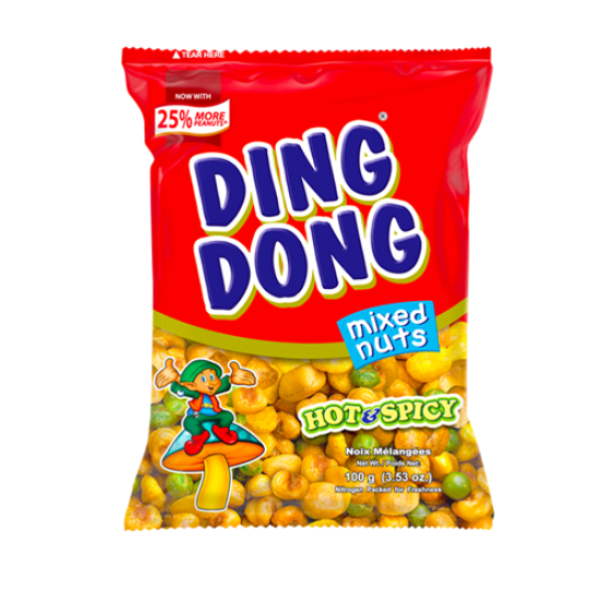 Ding Dong Super mix hot and spicy