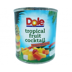 tropical fruit cocktail in extra light syrup 822g Dole