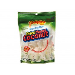 Dried young coconut 142g Philippine brand