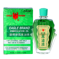 embrocation oil eagle brand 24ml