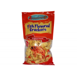 fish flavored crackers 100g zamboanga