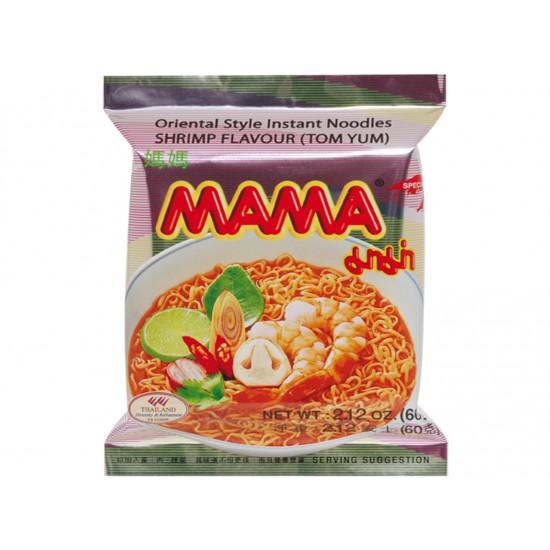 Instant noodles shrimp flavour (tom yum) 60g Mama