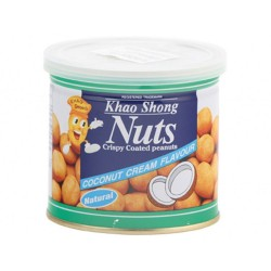 coconut flavour coated peanuts 185g Khao shong