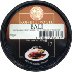Spice mix boemboe bali 100g Koningsvogel