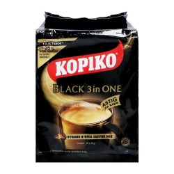 Kopiko coffee instant powder black 3 in 1 10x30g