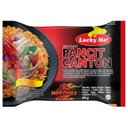 Lucky me pancit canton extra hot chili 80g instant noodles