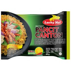lucky me pancit canton chilimansii 80g instant noodles