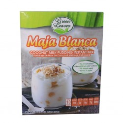 Maja blanca coconut milk pudding instant mix 250g Green leaves