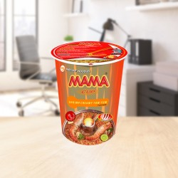 Instant cup noodles creamy shrimp 70g Mama