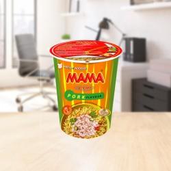 Instant cup noodles pork 70g Mama