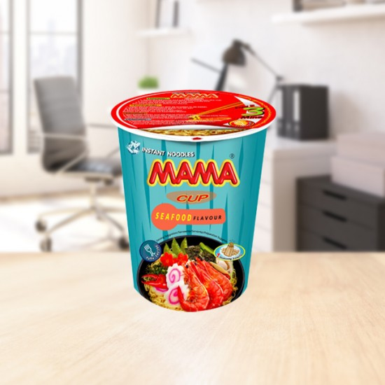 Instant cup noodles seafood 70g Mama