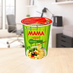 Instant cup noodles vegetables 70g Mama