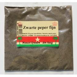 ground black pepper 50g Maussi kruiden