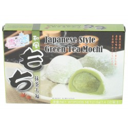 Mochi rice cake with green tea 210g Yuki&love