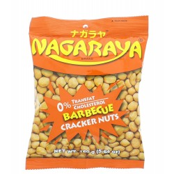 Nagaraya cracker nuts barbecue flavour 160g