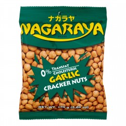 Nagaraya cracker nuts garlic flavour 160g