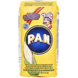 Pre cooked cornmeal gluten free 1kg P.A.N.