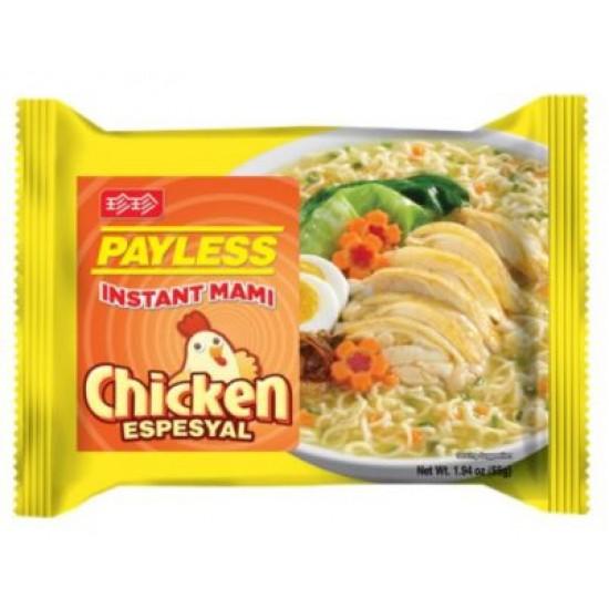 Instant mami chicken espesyal 55g Payless
