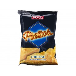 Piattos cheese flavored potato chips 85g