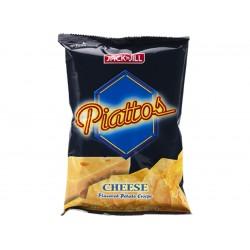 Piattos cheese flavored potato chips 85g