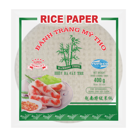 rice paper for springroll 22cm bamboo tree