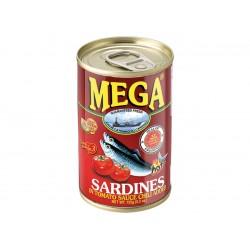 Sardines in tomato sauce chili added 155g Mega