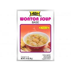 Wonton soup base 40g Lobo