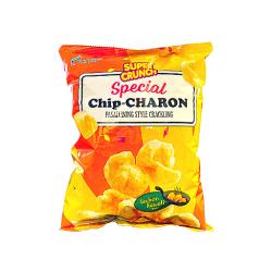 special chip charon  pasalubong style crackling lechon kawali flavor