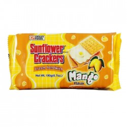 sunflower crackers mango flavor 190g