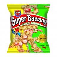super bawang corn snack garlic flavor 100g wl foods