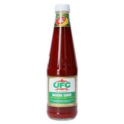 Banana sauce 550g UFC