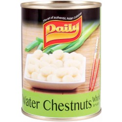 Water chestnuts whole in water 565g daily